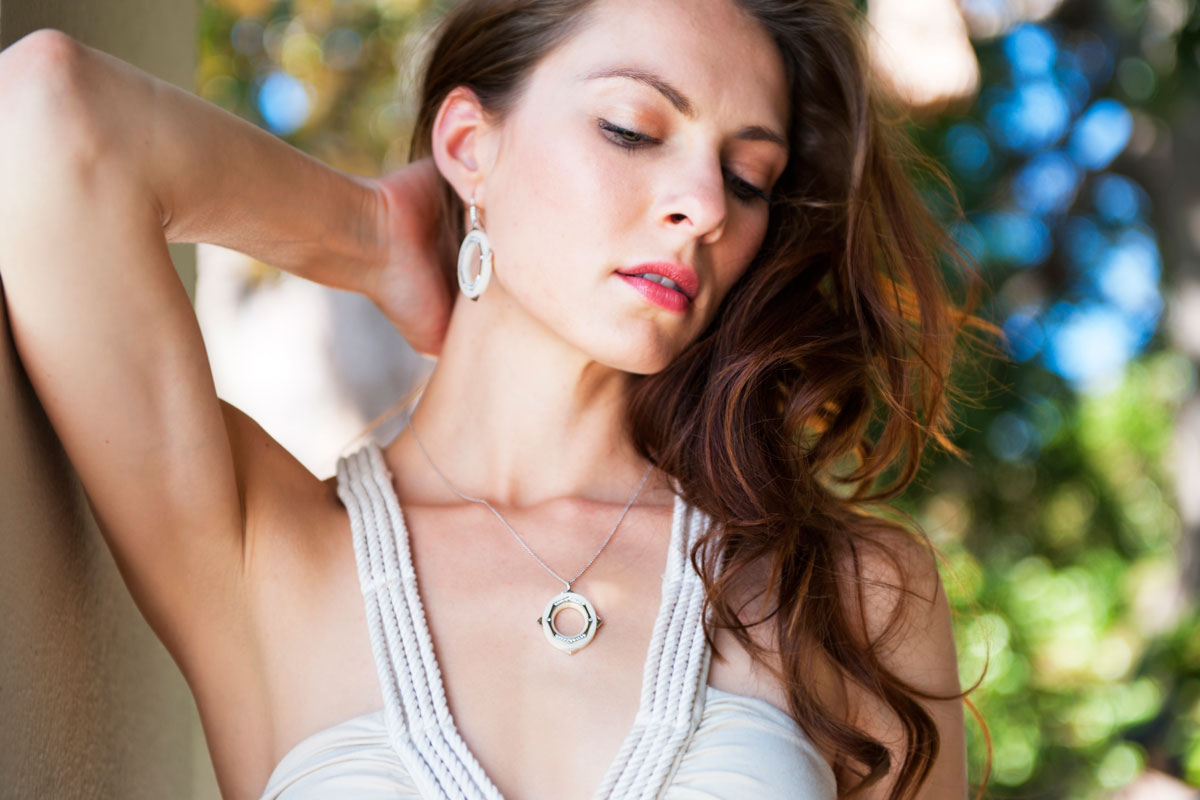 Irthly - Affinity Earrings and Necklace